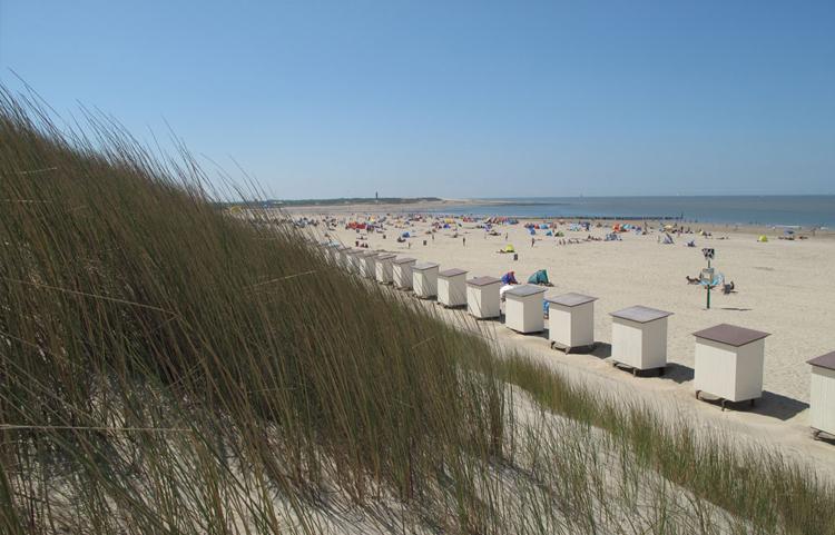 Strand Nieuwvliet Bad